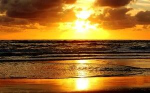 Sunset Beach in Sarasota Florida