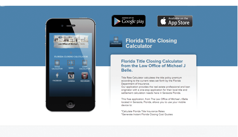 Florida Title Closing -Mobile App